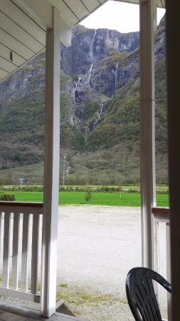 Gudvangen Camping: View from the patio