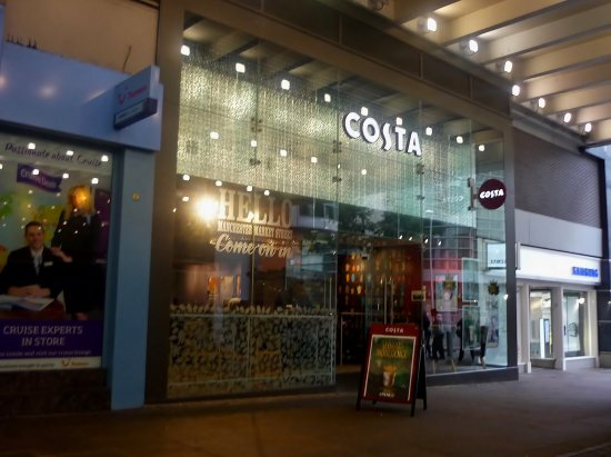 Costa Coffee Manchester 28 Market St Menu Prices