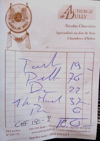 Dully, Schweiz: Douleures salées !