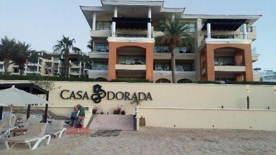 Casa Dorada Los Cabos: View of Hotel from the Beach