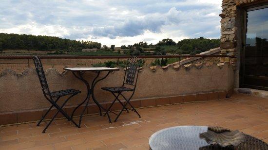 Sant Feliu de Boada, España: Vista desde el terrado