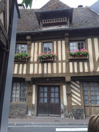 Broglie, France: building in nearby town