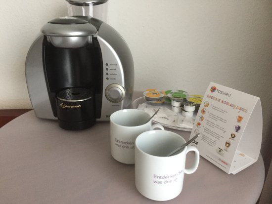 Mercure Hotel Bad Oeynhausen City: Kapsel Kaffeemaschine auf dem Zimmer
