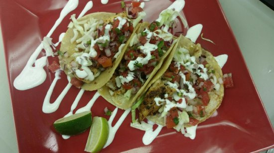 Port Saint Lucie, FL: Grilled Mahi Tacos