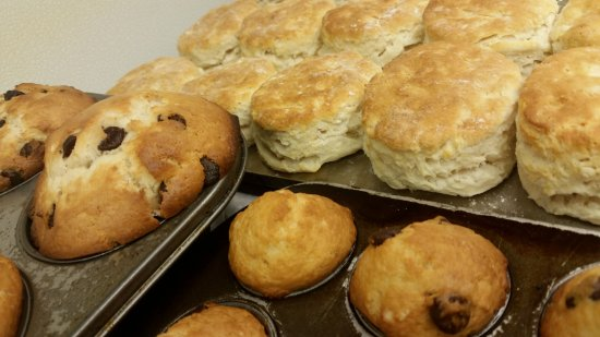 Port Saint Lucie, FL: Fresh Baked Muffins and Biscuits