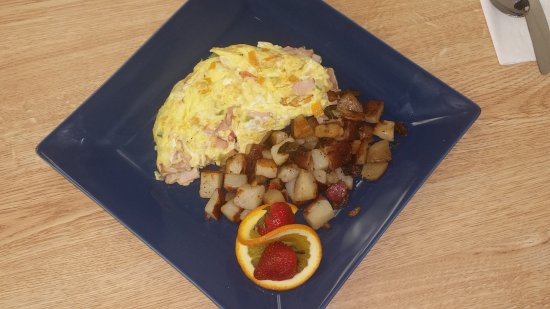 Port Saint Lucie, FL: Ham and Cheese Omelette