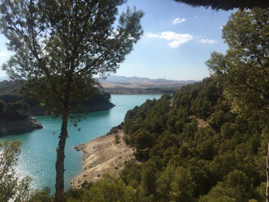 Fantastic views of the El Chorro Lakes