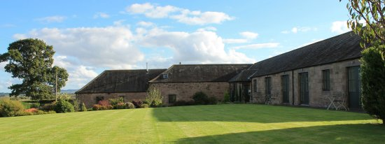 Coldstream, UK: Autumn on the Croquet lawn