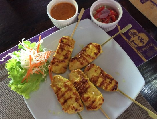 Tamarind Bar: Chicken satay