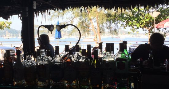 Tamarind Bar: View over Chalong Bay