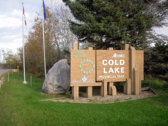 Cold Lake, Canadá: Entrance to CLPP