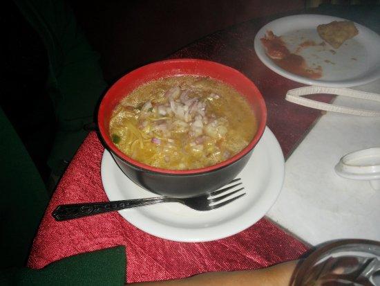 Melting Point Restaurant: Veg Thupka Soup