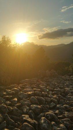 Puig de Pollenca: Descente par le chemin.