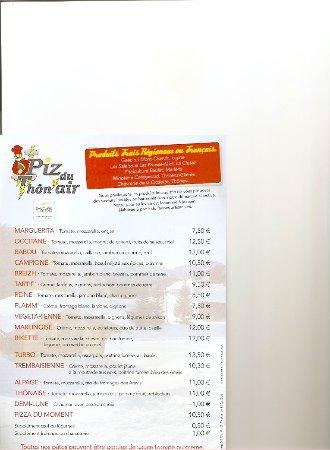 Thones, Frankreich: Carte Piz du Thôn'Air