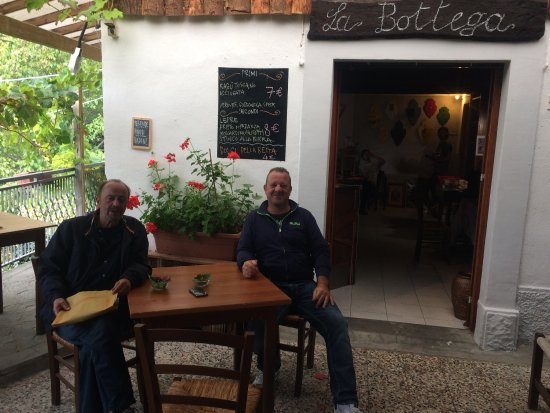 San Godenzo, Italia: Entrata osteria
