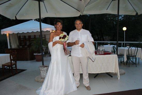 Mondaino, Италия: Repas de mariage à I due Ruscelli