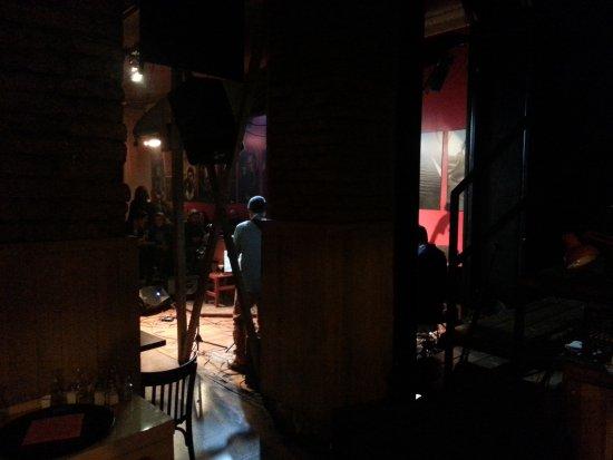 Foto tomada detrás del escenario!: Thelonious Lugar de Jazz ...