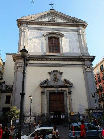 Facciata Basilica Foto Di Chiesa Di San Giorgio Maggiore Napoli