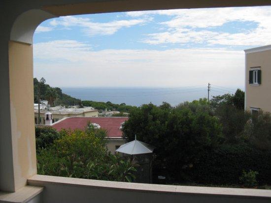 Hotel Villa Sarah : Aussicht mit Balkonbereich