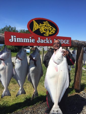 Kenai, AK: Jimmie Jack's Halibut Fishing