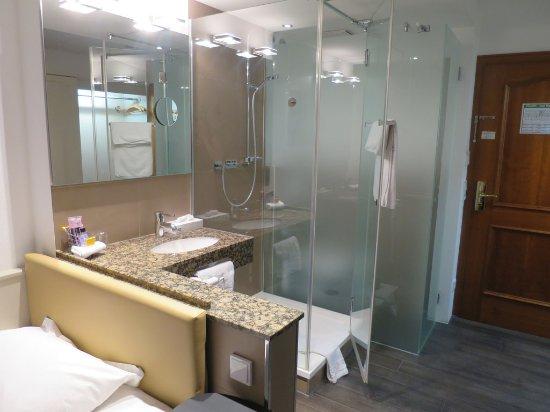 Unterfohring, Alemania: Single Room Bathroom