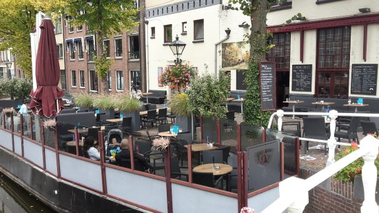 Gulden Vlies: seating on the barge, special!