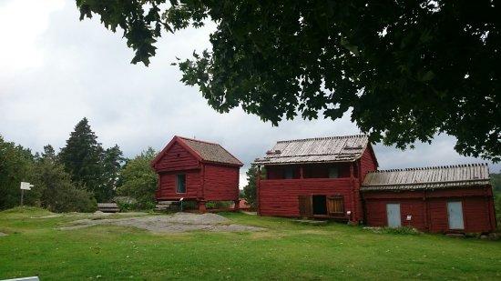 Aland Island, Finlandia: Några sidobyggnader till Jan Karslgården
