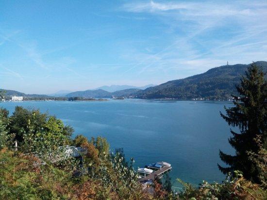 Techelsberg, Austria: Blick vom Hotelzimmer - einfach super!