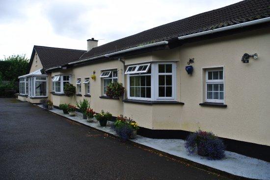 Annamoe, Irland: Hausfront
