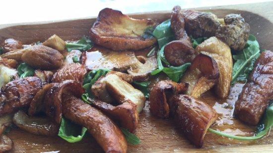 Il Faro: Funghi porcini alla griglia