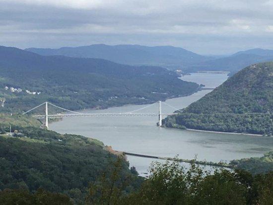 Bear Mountain, NY: View of the Hudson River