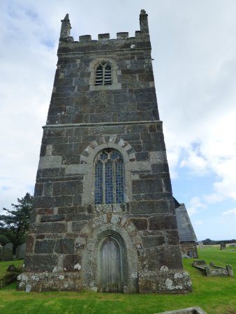 Ruan Minor, UK: The Front Of The Church