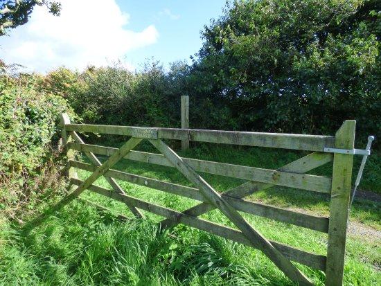 Ruan Minor, UK: The Gate To The Church