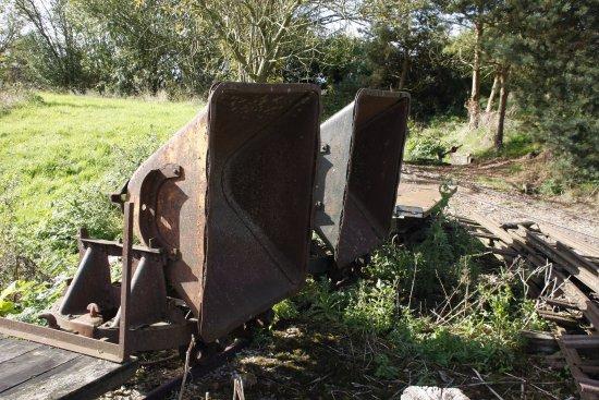 Dorrington, UK: Quarry trailer
