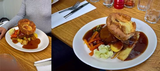 The Bridge Tavern: Lamb to our left, beef to our right...