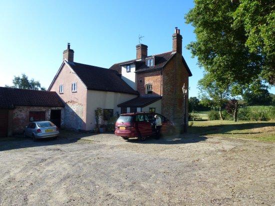 Yoxford, UK: Here's where you arrive