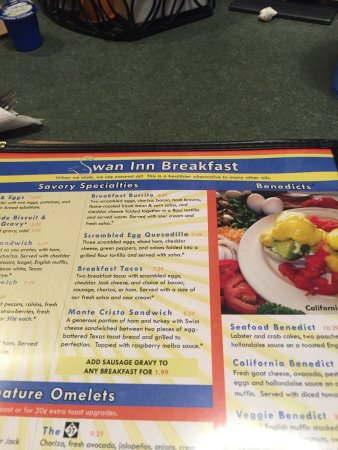 Awesome breakfast choice