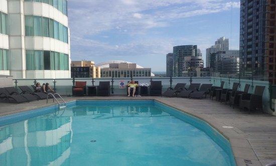 Hyatt Regency Toronto: Rooftop pool