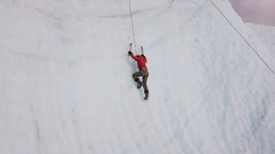 Kennicott, AK : Climbing the glacier