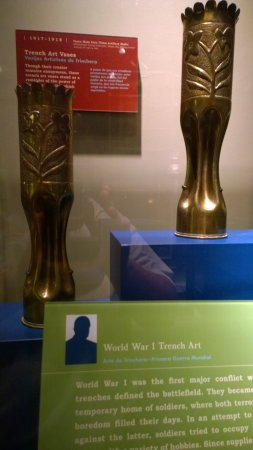 Tampa Bay History Center: WWI trench art