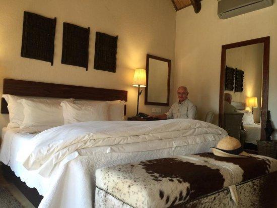 Kapama Southern Camp: A comfortable bed!