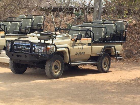 Kapama Southern Camp: The Toyota Land Cruiser - an excellent safari vehicle