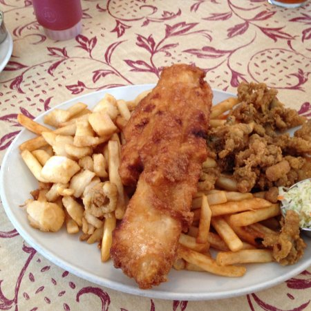 Middleton, Canada: Fisherman's Platter.