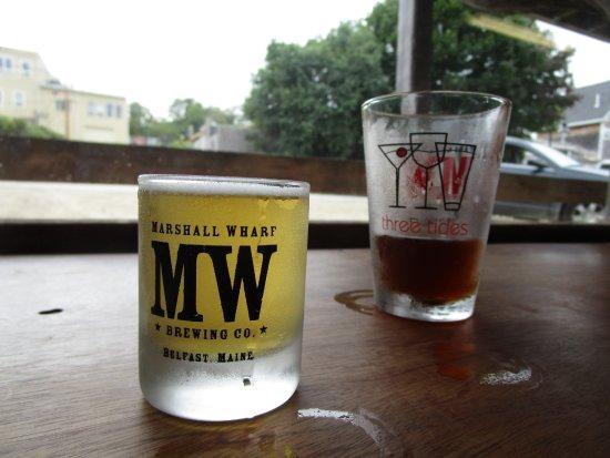 Belfast, ME: beer samples