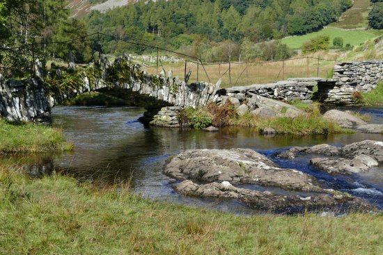 Little Langdale, UK: slaters bridge