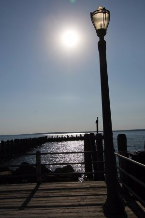 La Pointe, วิสคอนซิน: Quite attractive with the sun
