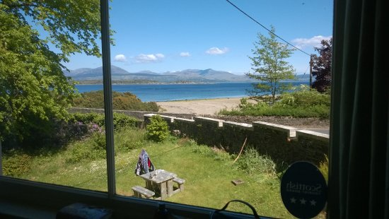 Carradale, UK: postcard view from livingroom window!