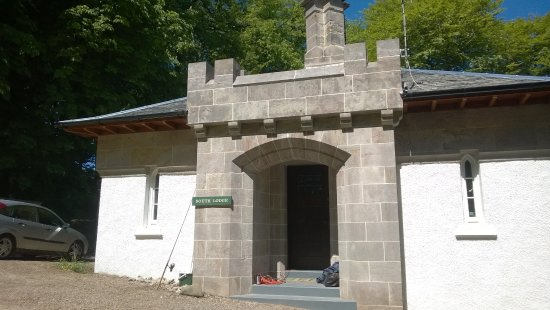 Carradale, UK: front of south lodge(our2nd home)