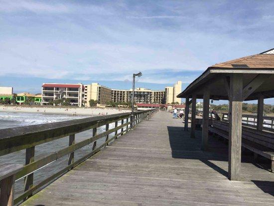 Springmaid Pier Looking Back