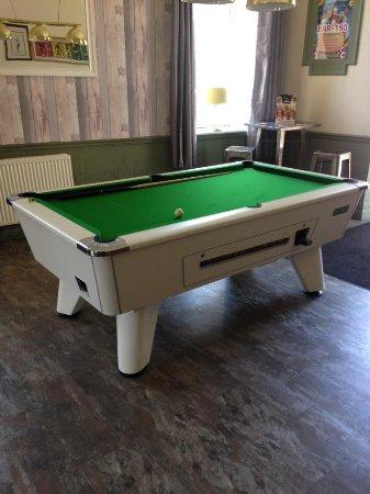 Tonypandy, UK: pool area